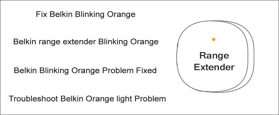 Fix Belkin Range Extender Orange Light Issue