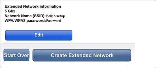 Create extended network